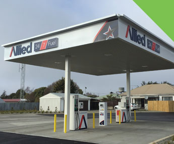 Allied Fielding Fuel Stop – Fuel Depot Canopy – Fielding – 2017